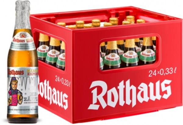 24 x Rothaus Eiszaepfle Maerzen Exportation 0,33 L- 5,6% Alkohol Originalkiste