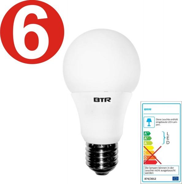 6x Mieux Lighting - ampoules LED - BT7925 - A60 9,5W E27 806lm
