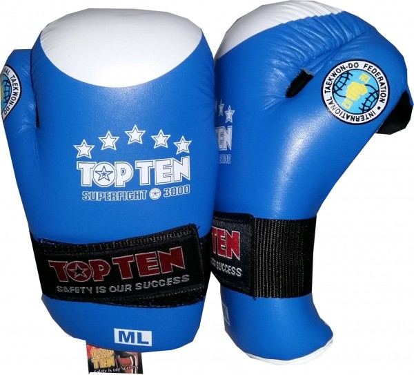 Top Ten Superfight 3000 Gants de Taekwondo