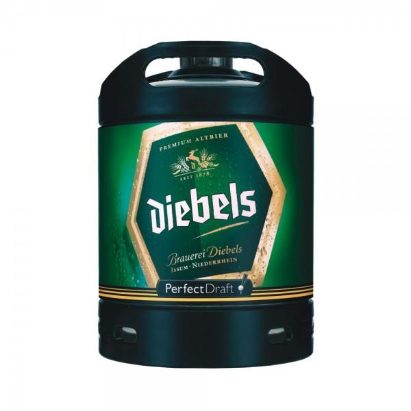Diebels Alt Perfect Draft fût de bière 6 litres 4,9% vol.