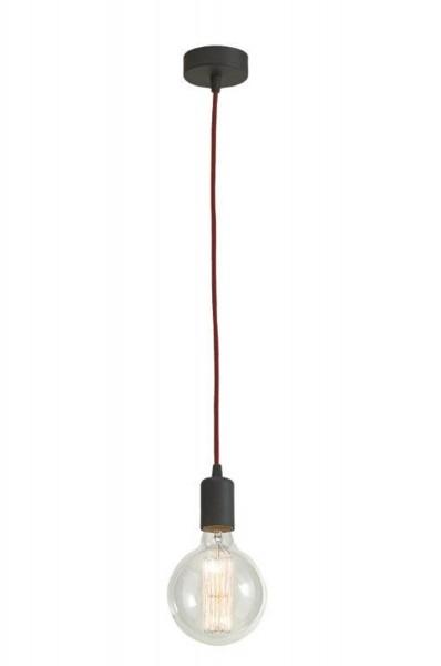 Lampe suspension contemporaine LAMPEX 1 métal / verre 80 x 12,5 cm