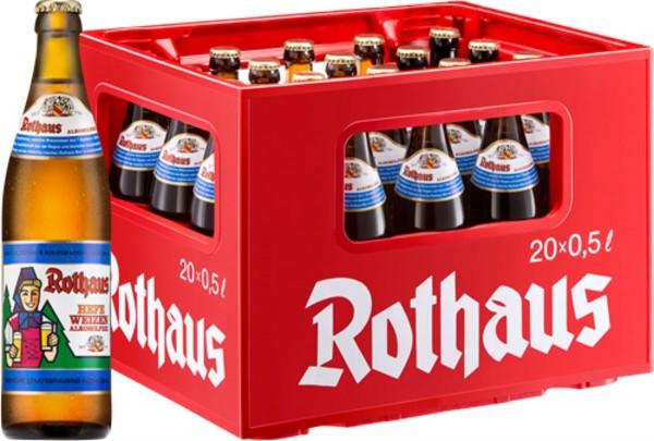 20 x Rothaus Hefeweizen sans alcool 0,5 L