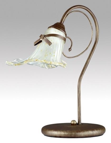 LAMPEX lampe de table kokardka métal / verre 45 x 43 cm