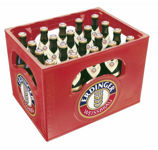 20 x Erdinger blé bière 0.5L boîte d'origine 5.3% vol