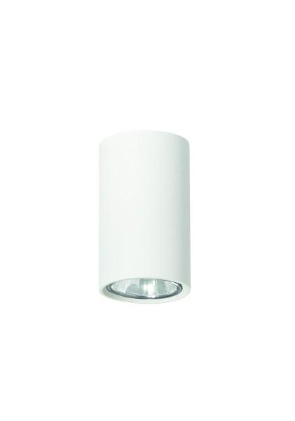 plafonnier LAMPEX Simba métal blanc 10 x 6 cm