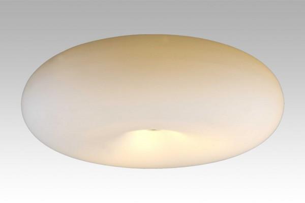 LAMPEX plafond Opal 38 métal / verre 12 x 38 cm