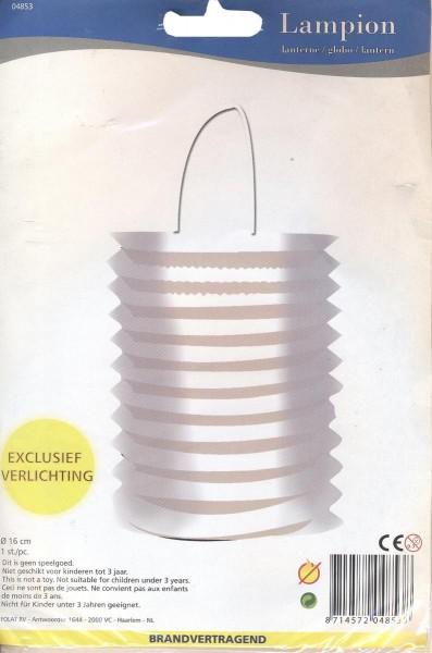 Lanterne forme cylindrique
