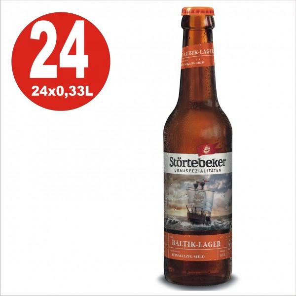 24 x Stoertebeker Baltik-Lager 0,33 Original box 5,5% Vol. Alc