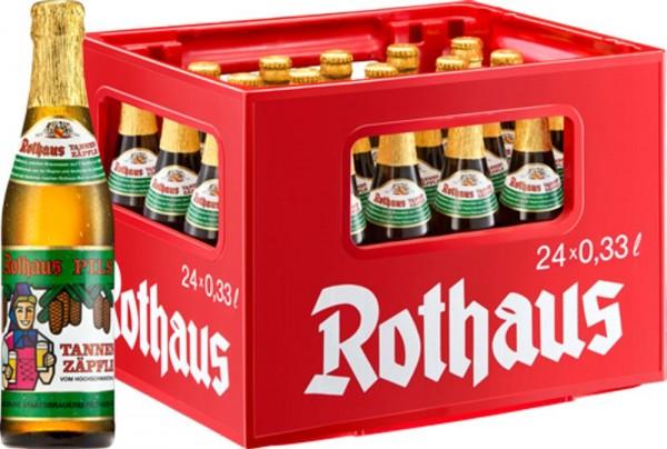 24 x Rothaus Tannenzäpfle 0,33 L 5,1% d'alcool