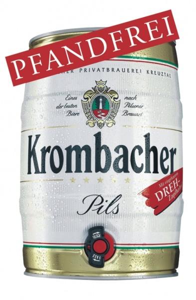 Krombacher cerveza blanca de levadura 5 litres de 4,8% vol