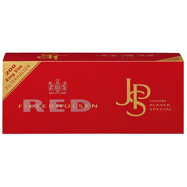 JPS rouge filtre manches manches de filtre King Size 200
