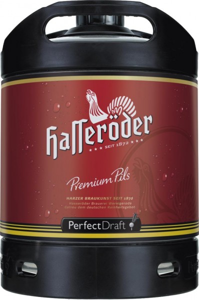 Fut de biere Hasseroeder Perfect Draft Permium Pils fût de biere 6 litres 4,9% vol.