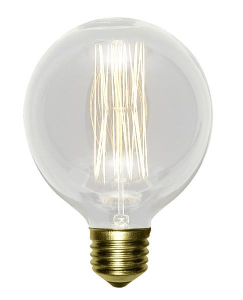 LAMPEX ampoule décorative G80 verre 8 x 11,5 cm