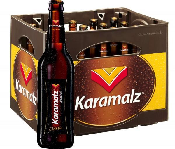 Karamalz Malzdrink - Alcool 20x0,5l gratuit - étui d'origine