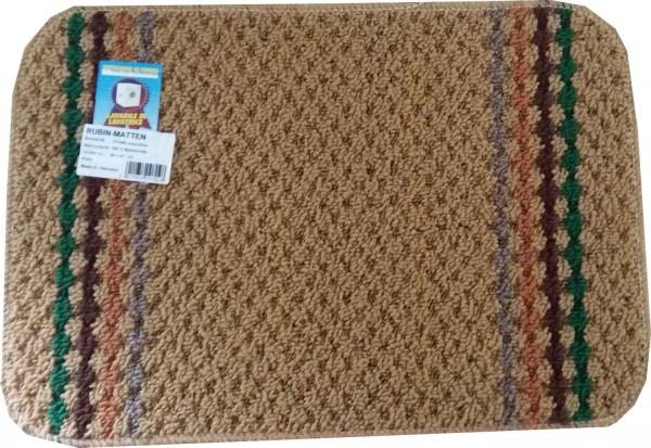 Rubis mat Polo brun clair 40x57 cm
