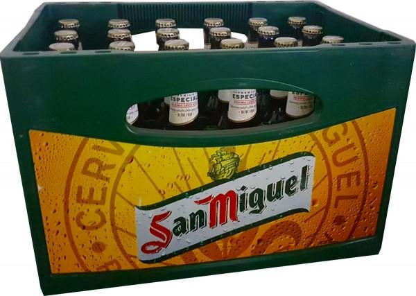 24 x San Miguel Especial 5,4% vol. 0.33l affaire initiale