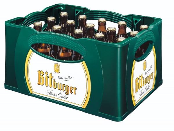 Bitburger Pils Prime 20x0,33l - Steini Fläschle 4,8% vol. affaire initiale