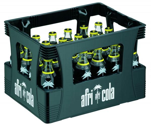 24 x Afri Cola 25mg 0,2L Bouteille en verre d'origine