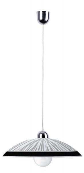 Rabalux Sphère Pendentif lumière blanche / noire