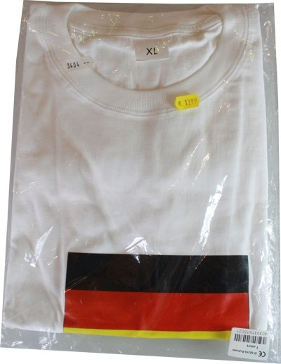 Allemagne T-Shirt taille XL.