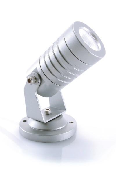 KAPEGO Mini LED 230V 3W argent WW IP65