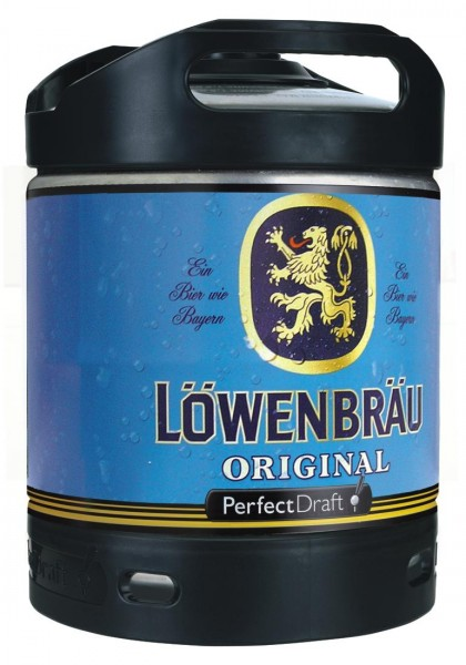 Fut de biere Lowenbrau origine Perfect Draft fût de biere 6 litres 5,2% vol