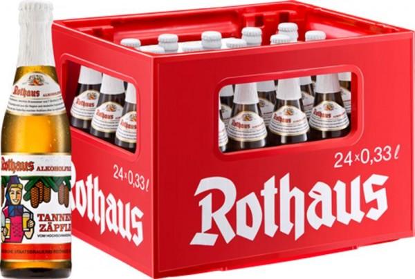24 x Rothaus sans alcool Tannenzäpfle 0,33 L
