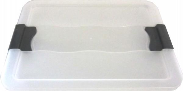 5 x couverture pour Octobre Kristallbox 7L + 12 L + 24L transparente