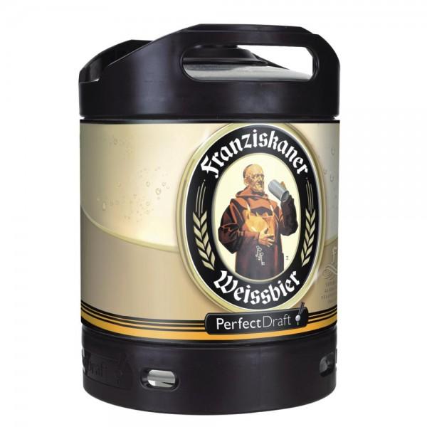 Fut de biere Franziskaner Weissbier bière de blé PerfectDraft 6 litres 5,0% vol. fût de bière