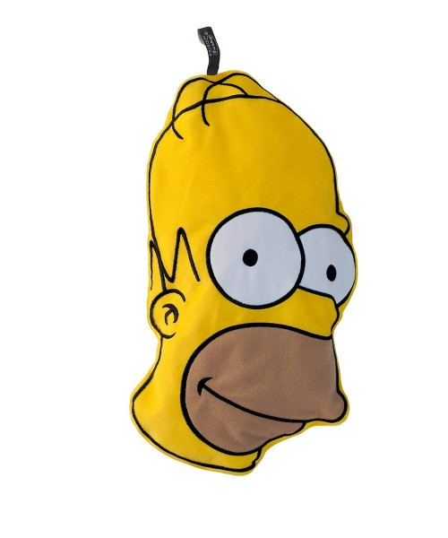 Bouillotte Fashy 0,8 litre avec couverture en peluche Homer Simpson