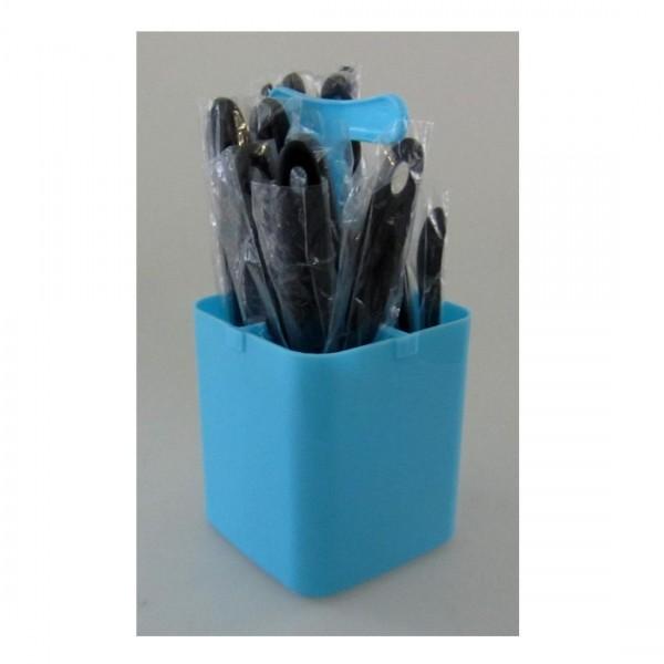 Fackelmann Ménagère 17 pcs. Turquoise