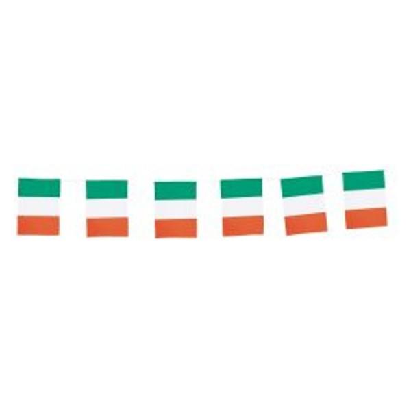 Chaîne de drapeau...Italie