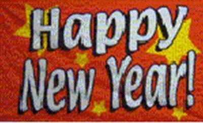 Drapeau...Bonne année
