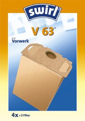 Sac de filtre poussière Tourbillon V63 Micropor