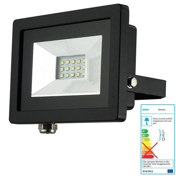 Mieux éclairage LED Spot 10W - BT6010 - aluminium moulé sous pression noir