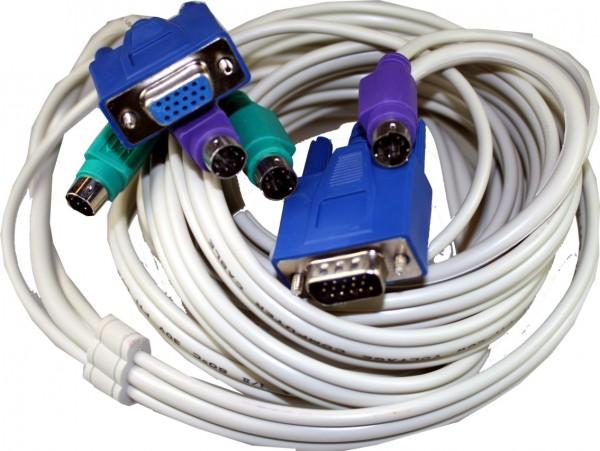 KVM 3,0 m de câble.