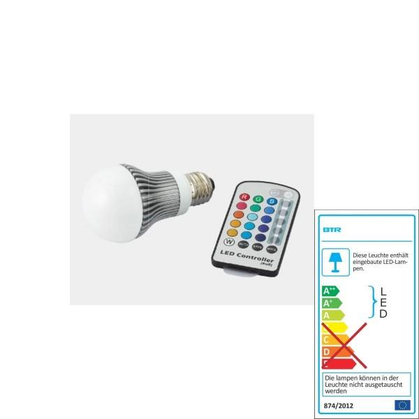 Un meilleur éclairage - Ampoules LED - changement de couleur RVB A60 - BT0124