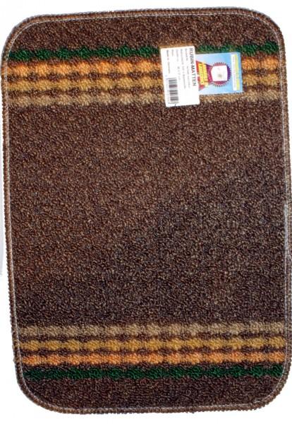 Rubin mat Polo brun foncé 40 x 57