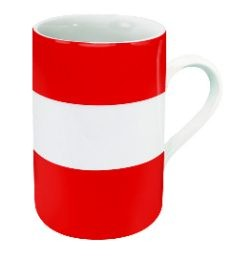 Tasse de drapeau...Autriche