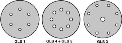 Gel de SB-bâton papier PS22K 150 mm K120. KLINGSPOR