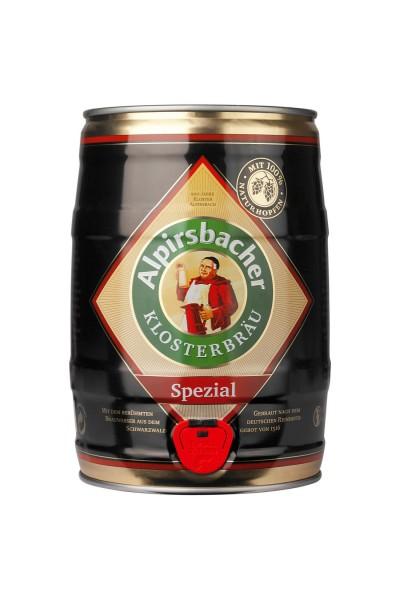 Alpirsbacher cerveza blanca de levadura Special - 5 litres