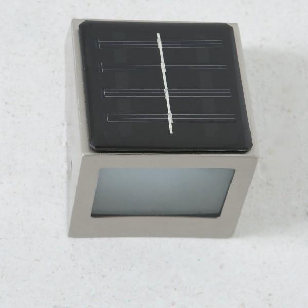 Un meilleur éclairage CAIRE SOLAIRE - BT1040C solaire - LED Acier inoxydable