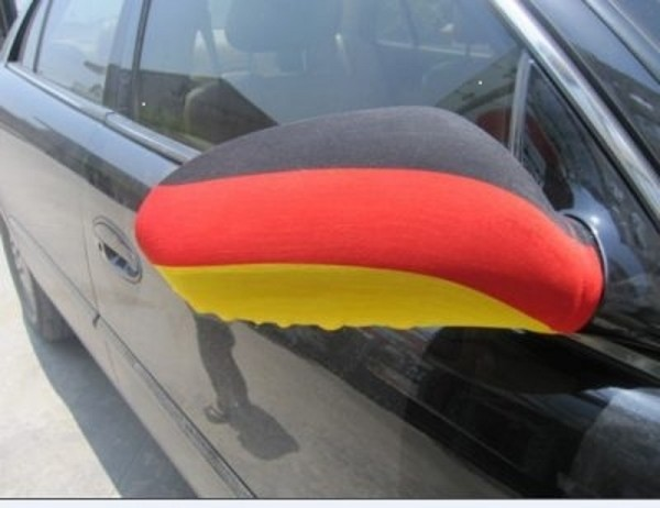 Drapeau du rétroviseur extérieur...Allemagne