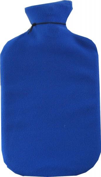 bouteille d'eau chaude couvrir bleu