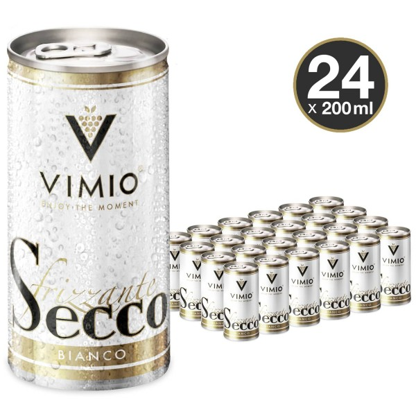 Vimio Frizzante Secco Bianco Bidon 10.5% Vol. 200 ml boîte