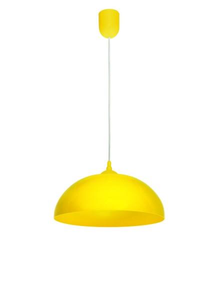 Lampe suspension LAMPEX Asko PVC jaune 70 x 36 cm