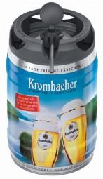 Krombacher Pils fûts fraîches, 5 litres de 4,8% vol
