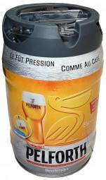 Bière Pelforth blond partie de 5 litres Keg 5,8% vol. avec robinet